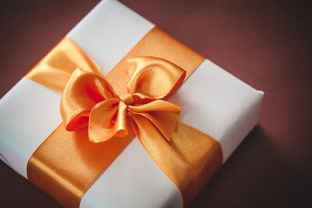 gift giving: Gift. Stock Photo