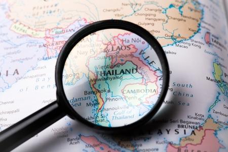 Azië. Stockfoto