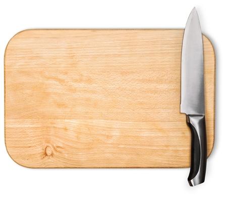 cuchillo de cocina: Tabla para picar.