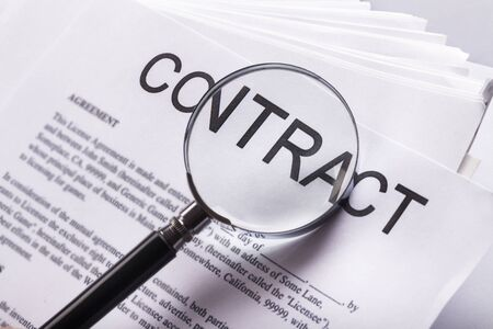 Contract. Stock Photo - 48478533