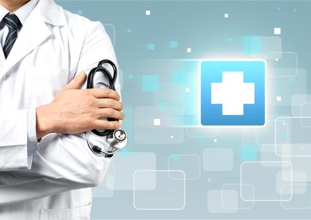 Arzt. Standard-Bild