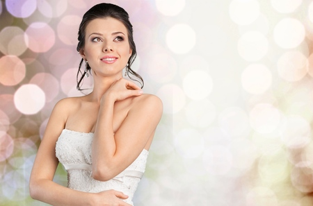 bride bangle: Pearl. Stock Photo