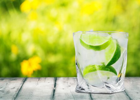 lime: Gin.
