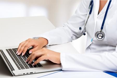 doctor stethoscope: Computer.