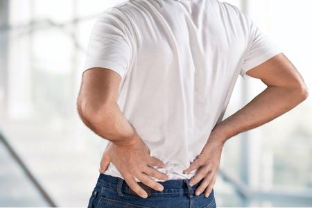 human backache: Backache.