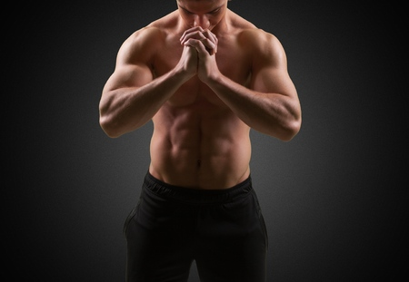 only the biceps: Exercising concept