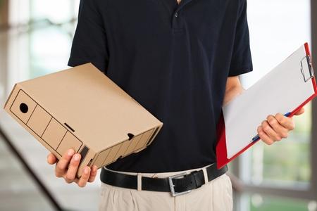 Delivering package concept