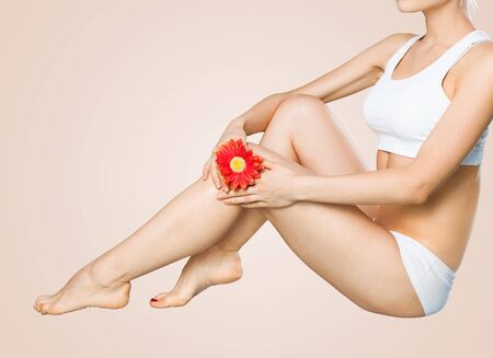 beauty body: Woman body of a spa and beauty concept Stock Photo