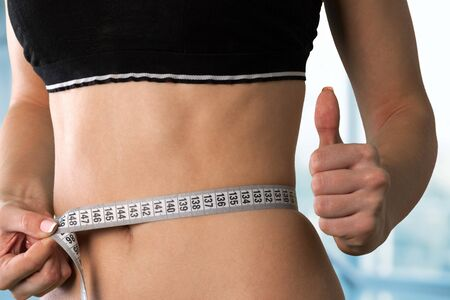 moving activity: Dieting concept  Stock Photo