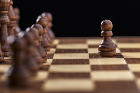 outwit: Chess game  Stock Photo