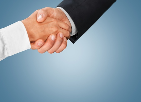 shaking out: Handshake. Stock Photo