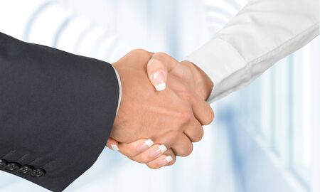 only women: Handshake. Stock Photo