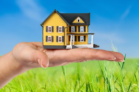 buying a house: buying a House concept.