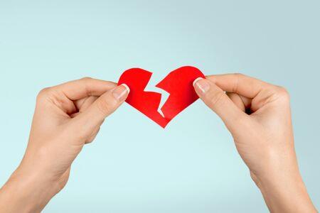 silhouette coeur: Broken Heart Shape.