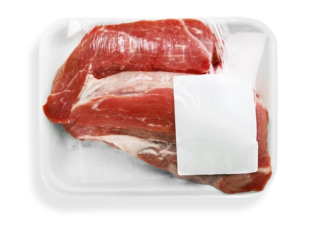tray: Meat.