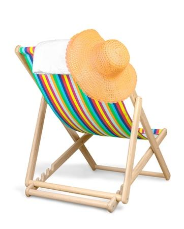 silla de madera: Playa.