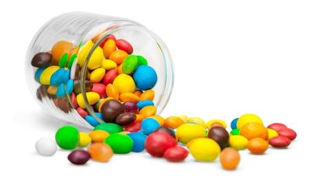 candies: Frijol de jalea.