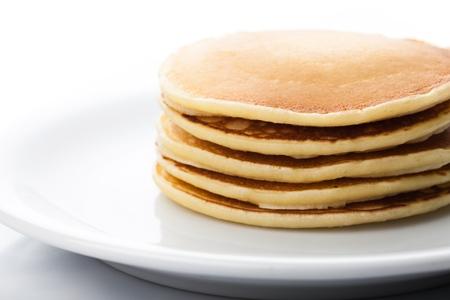 pancakes: Pancake. Stock Photo
