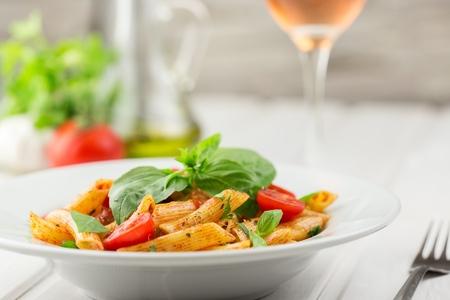 italian dish: Pasta.