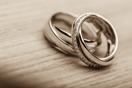 proposal of marriage: Ring. Stock Photo