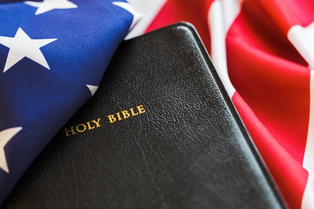 religion: Bible. Stock Photo