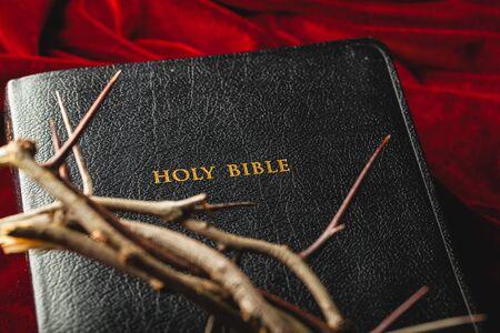 holy bible: Closeup.
