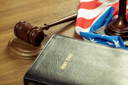 authority: Bible. Stock Photo