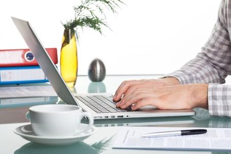 Laptop. Stock Photo