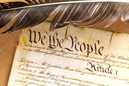 independencia: Constituci�n de Estados Unidos.