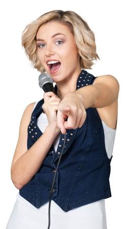karaoke singer: Karaoke.