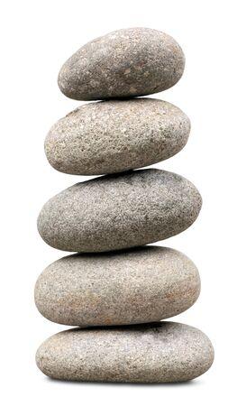 balance: Stone. Stock Photo