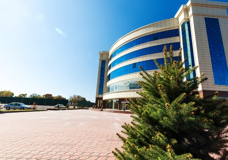 modern building: Built Structure. Stock Photo