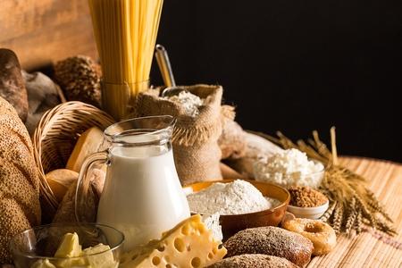 food photography: Flour.