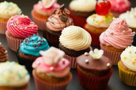food photography: Cupcake.