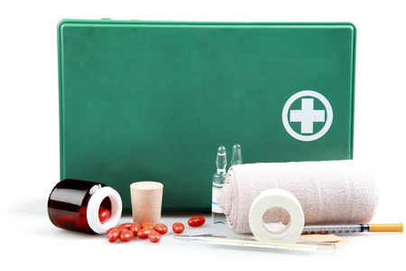 First Aid Kit. Stock Photo - 48638182