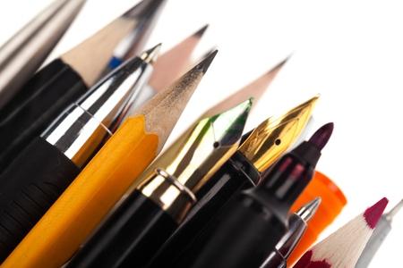 kugelschreiber: Bleistift. Lizenzfreie Bilder