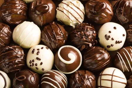 chocolate candy: Chocolate.