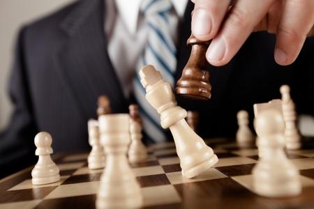 chess: Negocio. Foto de archivo