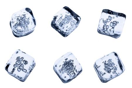 cubetti di ghiaccio: Cubetto di ghiaccio.