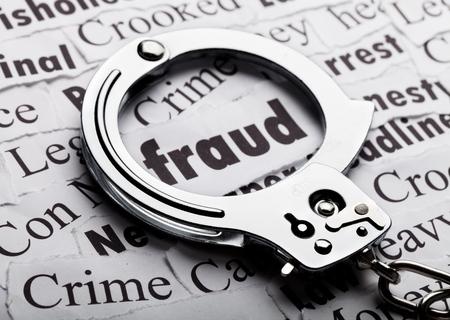 White Collar Crime. Banque d'images