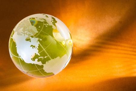 global business: Globe. Stock Photo