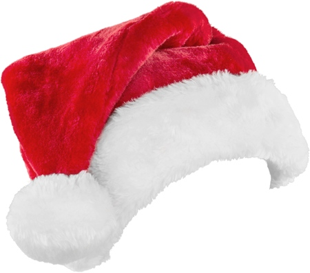 산타 모자. 스톡 콘텐츠 - 48636126