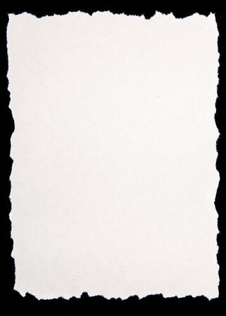 deckled: Paper.