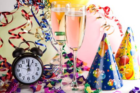 party hat: New Years Eve. Stock Photo