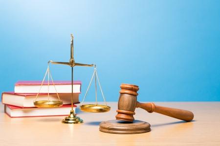 trial balance: Lawyer. Stock Photo