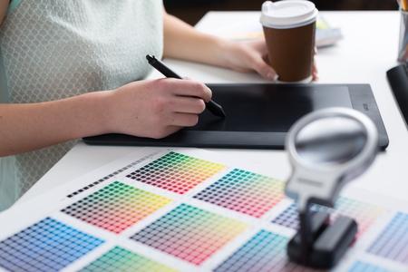 graphic designing: Graphic. Stock Photo