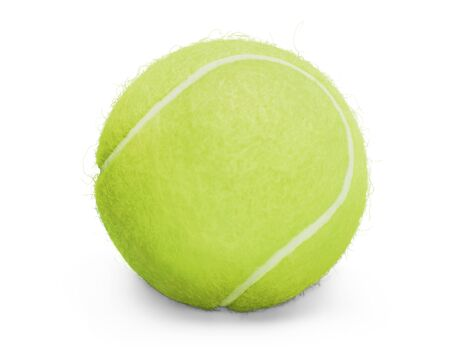 ball isolated: Tennis. Stock Photo