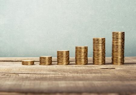 money background: Aged.