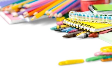 utiles escolares: Colegio.