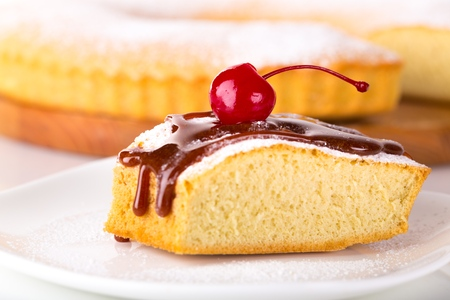 rebanada de pastel: Alimento.